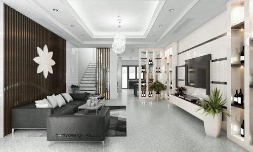 Thiết kế thi công biệt thự liền kề Gamuda Gardens