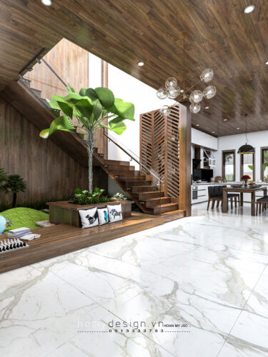 Thiết kế nội thất biệt thự nghỉ dưỡng GARDEN VILLA