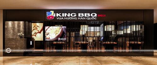 THIẾT KẾ NHÀ HÀNG NƯỚNG KING BBQ